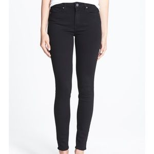 NWT Paige Hoxton Ankle High Rise Skinny Jeans
